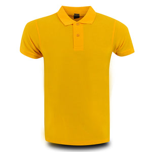MENS PROJECT POLO SHIRT LEMON YELLOW