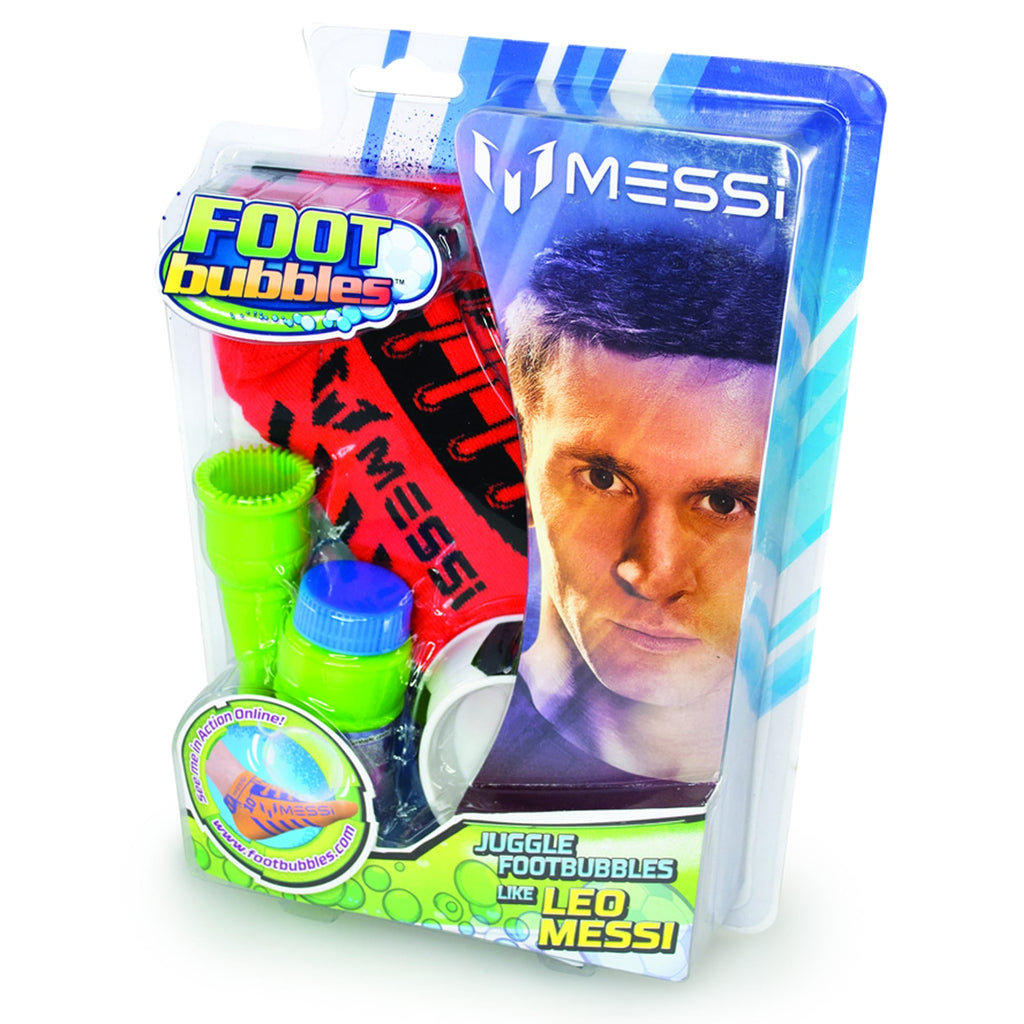 MESSI FOOT BUBBLES