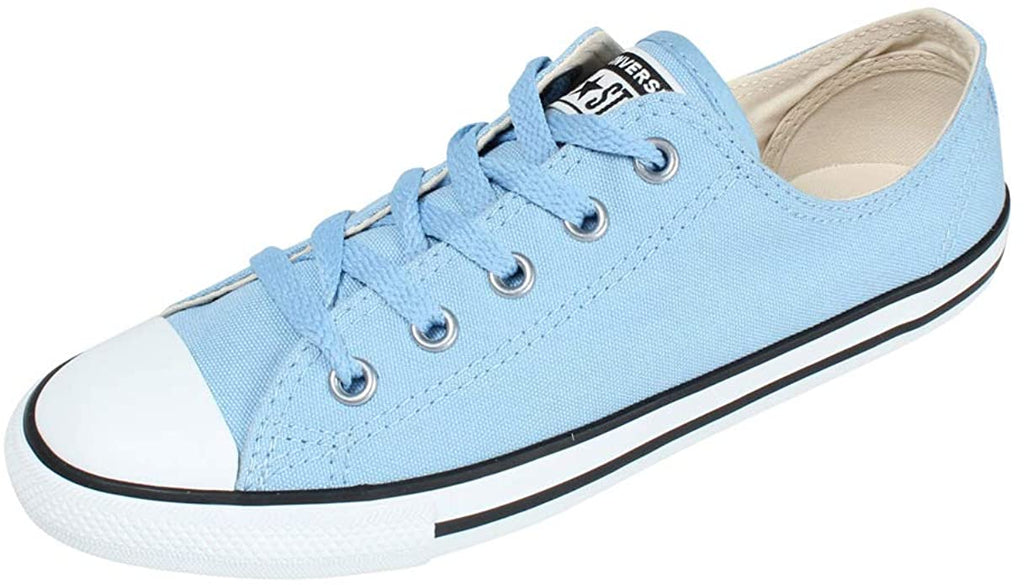 CONVERSE DAINTY CANVAS STUD LOW BLUE