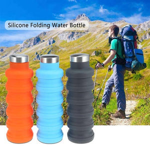 Collapsible Silicone Water Bottle | gift | [product-description]