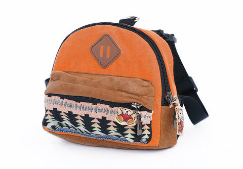 Boho Mini Pet Backpack