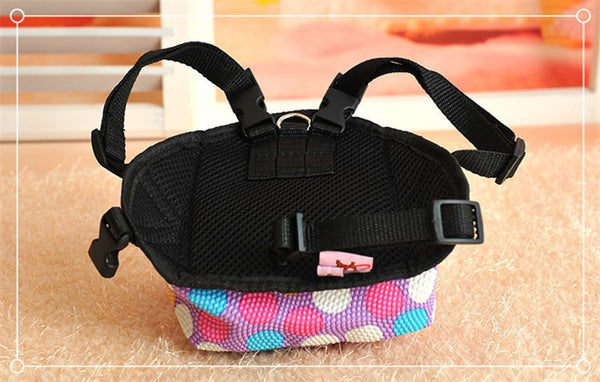 Polka Dot Pet Backpack