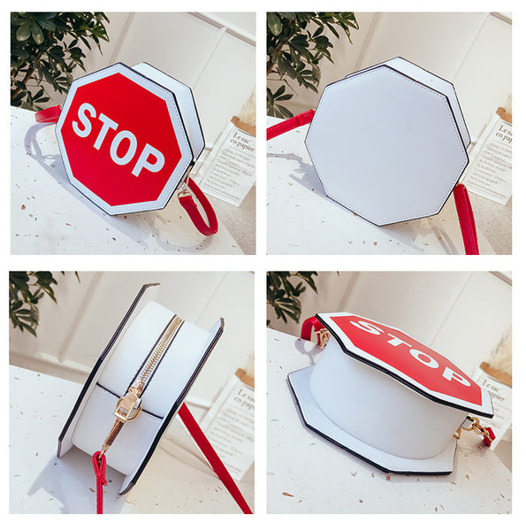 STOP Sign Shoulder Bag
