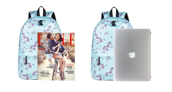 Cute Unicorn Pattern Classic Backpack