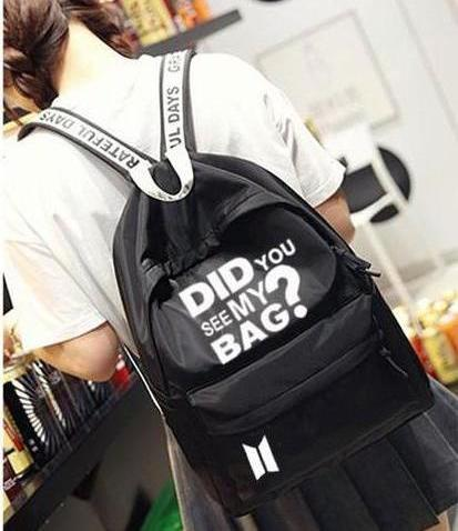 BTS Did You See My Bag? Backpack