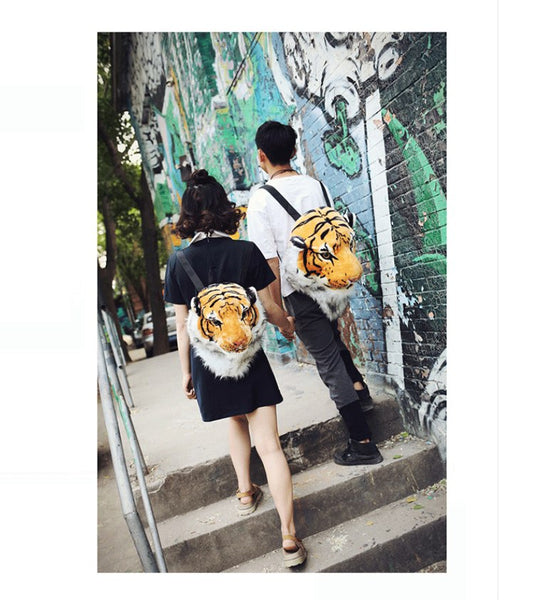 Animal Head Backpack
