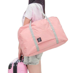 Portable Foldable Nylon Duffel Bag