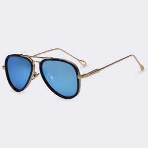 Winla Classic Brand Design Style Sunglasses for Women Metal Frame Coating Colorful Mirrors Accessories Sun Glasses Female UV400-moflily