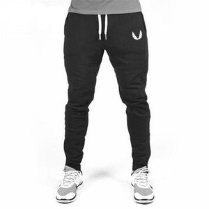 2017 High Quality Jogger Pants Men Fitness Bodybuilding Gyms Pants For Runners Brand Clothing Autumn Sweat Trousers Britches-moflily
