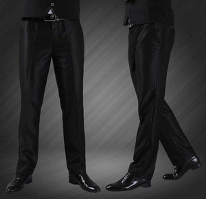 (Single Pant) High Quality Men Suit Pant 2017 New Arrival Slim Fit Fashion Brand Business Dress Wedding Trousers J1004-moflily