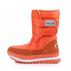 Popular Snow Boots For Women Flat Heel 10 Colors Plus Size Women Winter Boots Waterproof Women Winter Shoes Waterproof Boots-moflily