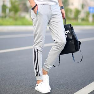 2018 New Fashion Tracksuit Bottoms Mens Casual Pants Cotton Sweatpants Mens Joggers Striped Pants Gyms Clothing Plus Size 5XL-moflily