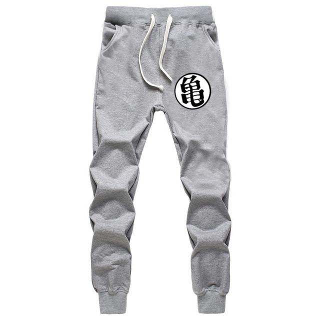 Casual Funny Print Dragon Ball Goku Mens Pants Cotton Autumn Winter Gray Men Joggers Sweatpants Plus Size Black Trouser pantalon-moflily