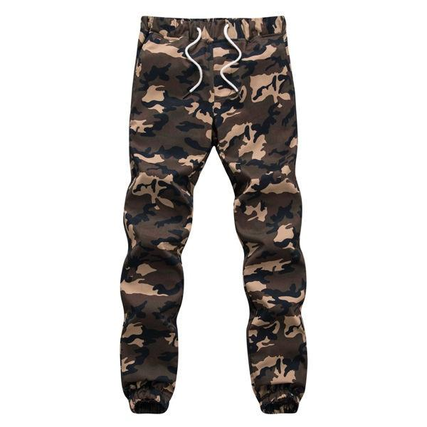 M-5X 2018 Mens Jogger Autumn Pencil Harem Pants Men Camouflage Military Pants Loose Comfortable Cargo Trousers Camo Joggers-moflily