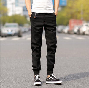 2018 Top Quality New Brand Mens Print Beam Foot Pants Active Joggers Pencil Pants Men Hip Hop Sweatpants-moflily