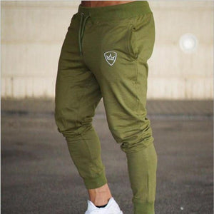 SJ Gyms Men Pants Cotton 2018 Track Pants Joggers Sweatpants Casual Sweat Pants-moflily