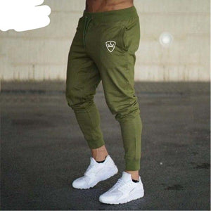 2018 new top Gyms Men Pants Cotton 2018 Track Pants Joggers Sweatpants Casual Sweat Pants-moflily