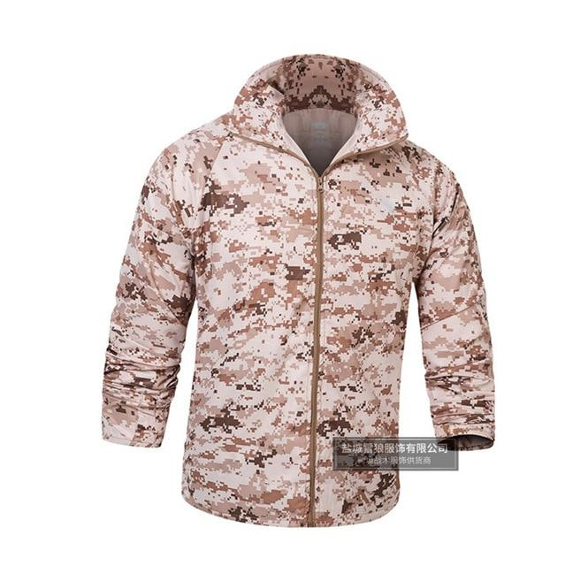 Men Summer lightweight Jacket Skin Tactical Thin Waterproof Quick Dry Raincoat Military Jacket Camouflage Breathable Windbreake-moflily