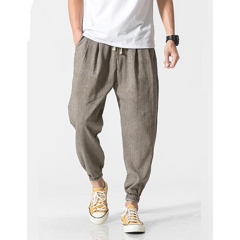 Privathinker Brand Casual Harem Pants Men Jogger Pants Men Fitness Trousers Male Chinese Traditional Harajuku 2018 Summer Clothe-moflily