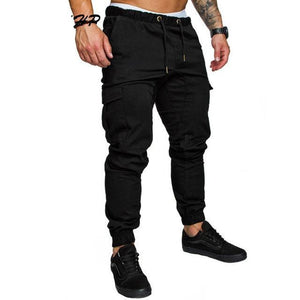 TOLVXHP 2018 Brand Men Pants Hip Hop Harem Joggers Pants 2018 Male Trousers Mens Joggers Solid Multi-pocket Pants Sweatpants 4XL-moflily