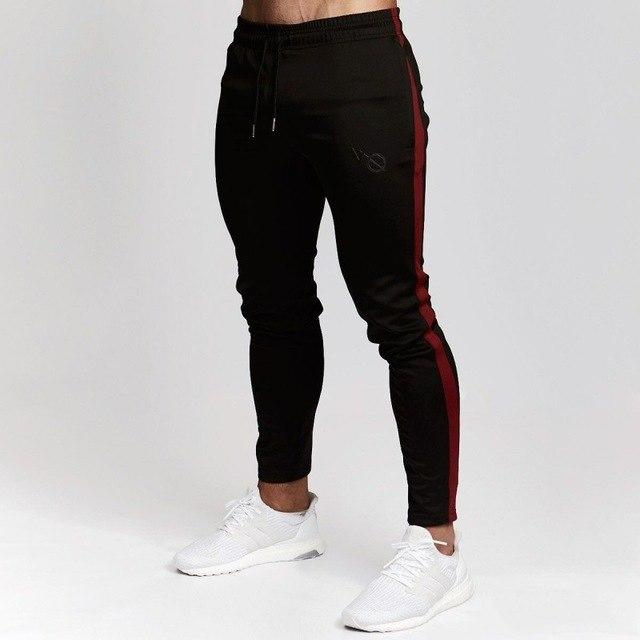 Brand 2018 NEW GYMS Mens Joggers Pants Fitness Casual Fashion Brand Joggers Sweatpants Bottom Snapback Pants Men Casual Pants-moflily