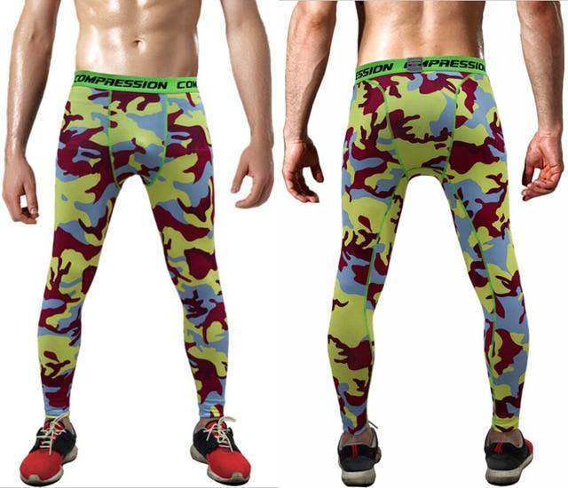 2018 Joggers Men Compression Pants Tights Casual Bodybuilding Man Trousers Brand Camouflage Army Fitness Gyms Skinny Leggings-moflily