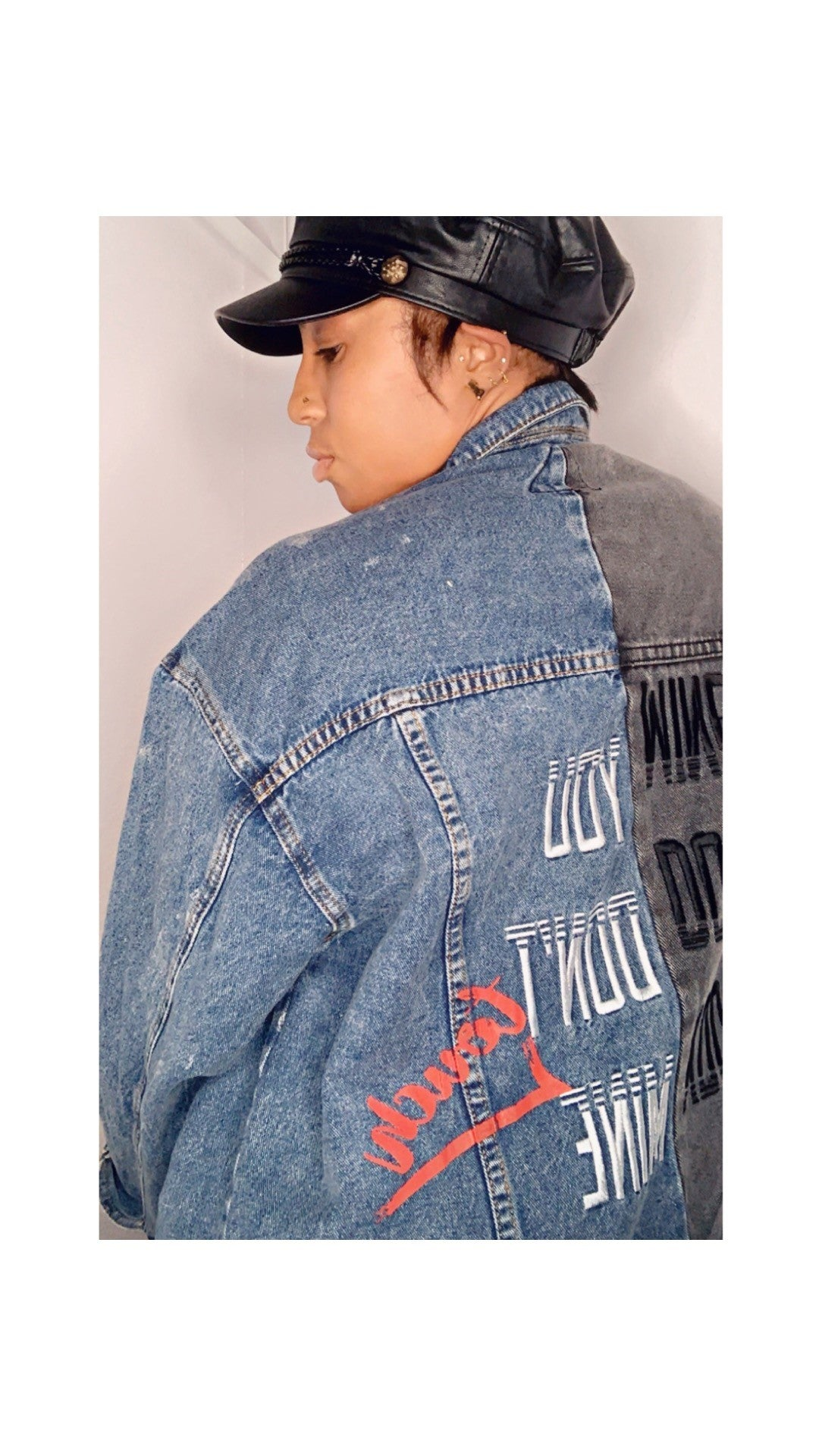 Two Face Denim Jacket