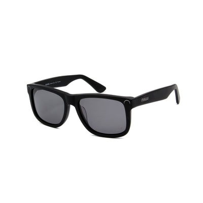Corsica Matte Black - Angle View - Grey lens - Mawu Sunglasses