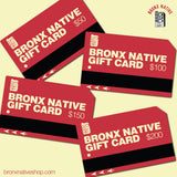 Bronx Native Gift Card