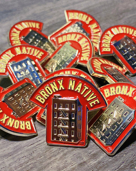 Bronx Native Logo Pin
