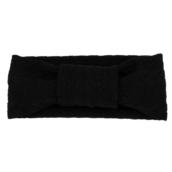 Tiny Turban Headband schwarz