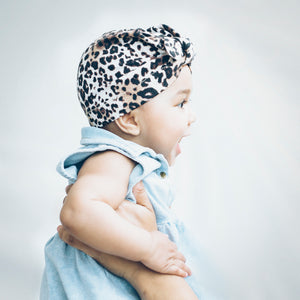 Tiny Turban Headwrap leo