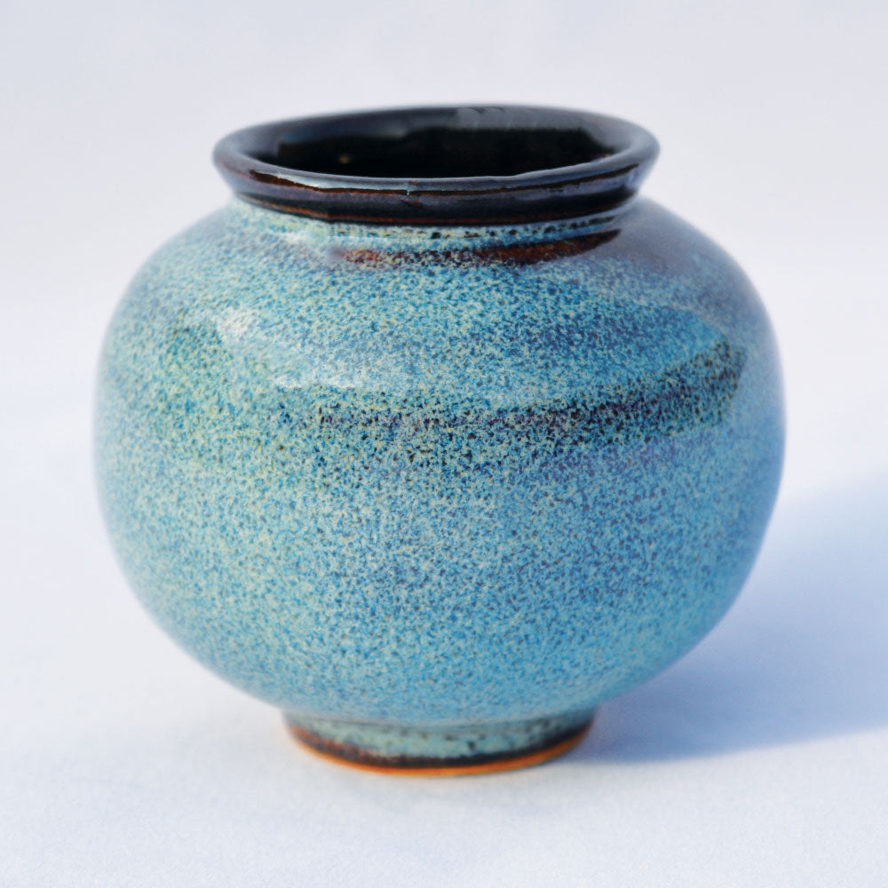 Sea Green & Tenmoku Moon Jar