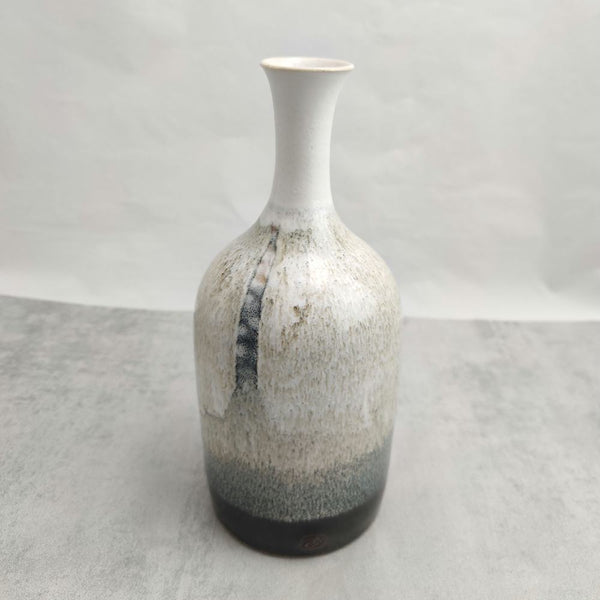 Nuka & Tenmoku Bottle Vase
