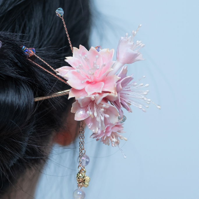 Salura on the Cliff Yae Sakura Gold-plated Hair Pin