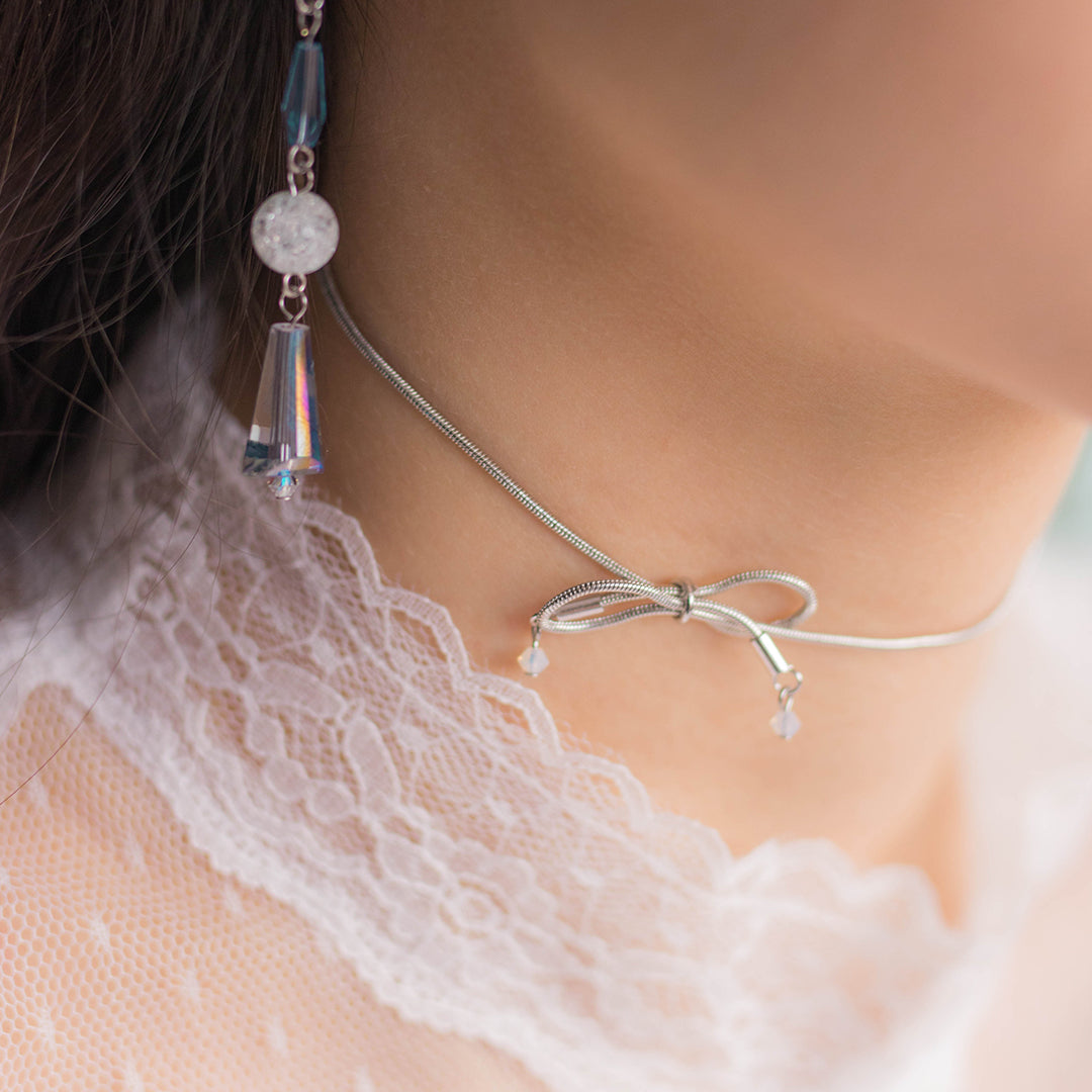 Rainshower Ribbon Chocker