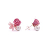 ROSY ROSIE Curd Sterling Silver Earrings