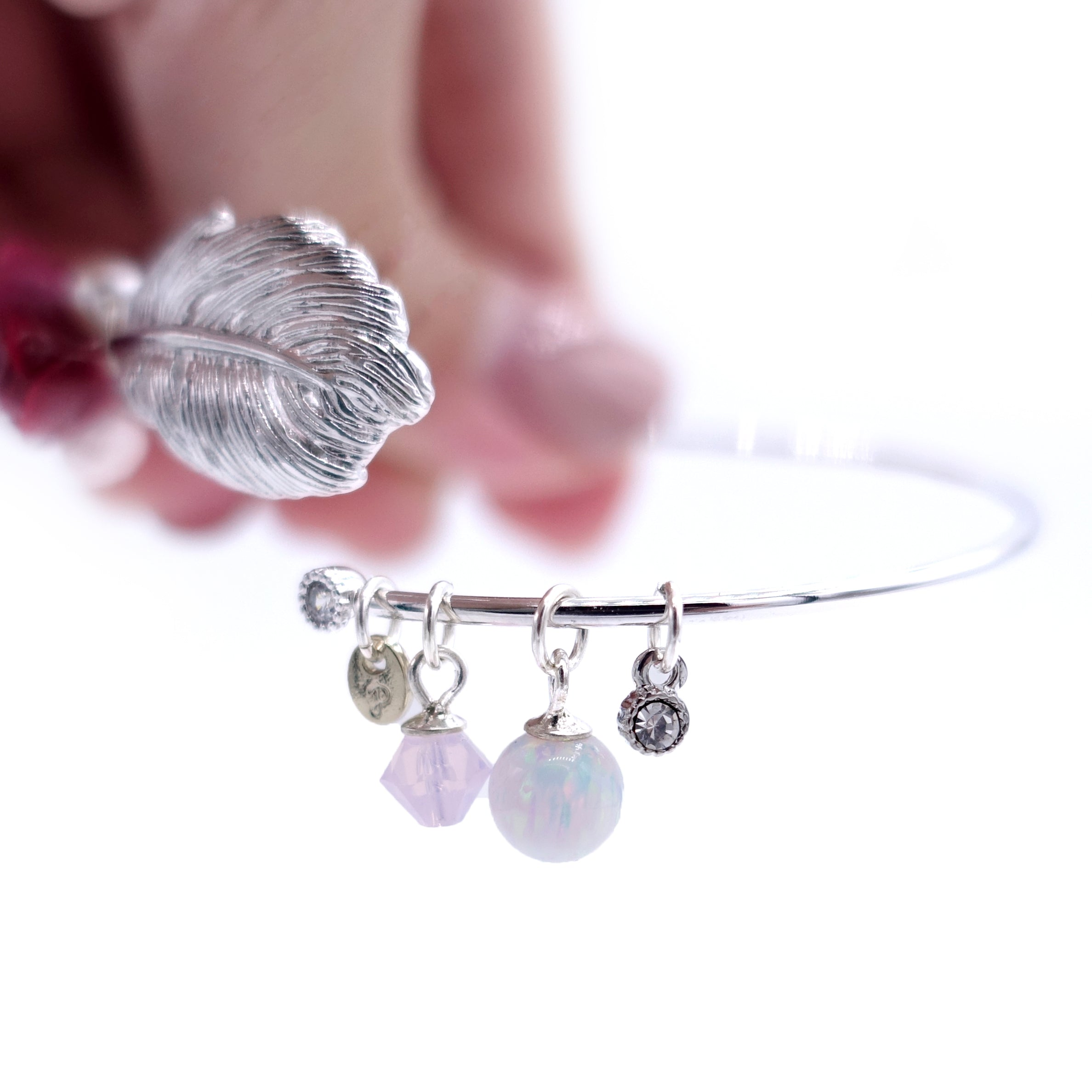 ROSY ROSIE Resin Clay Dreamy Stone Bangle
