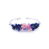 SAKURA COLLECTION Night-Sakura Crystal Bouquet Bangle