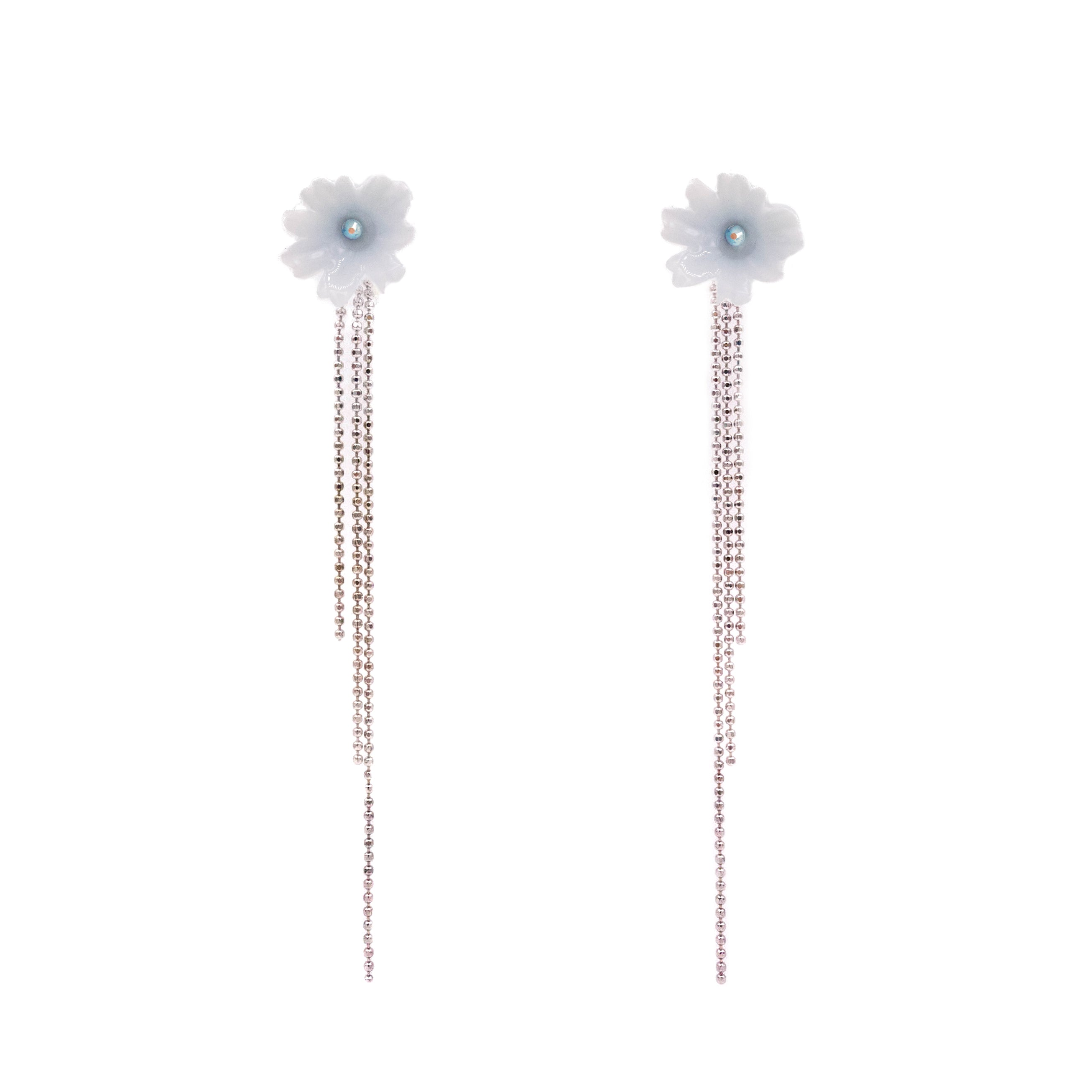 Rainshower 3-in-1 925 Silver Bouquet Earrings Set