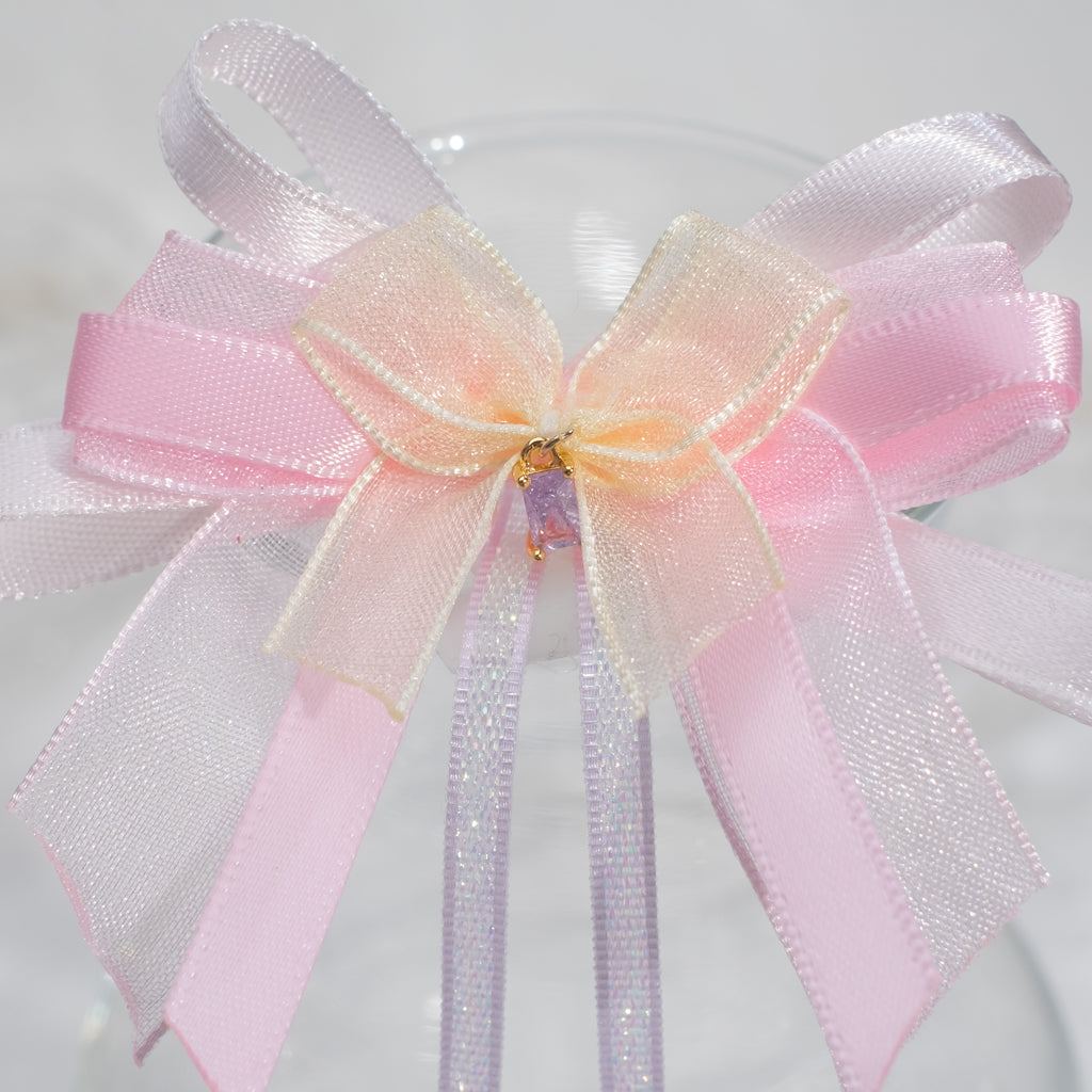 2-way Mini Ribbon Bow Clip-Brooch (11 Designs)