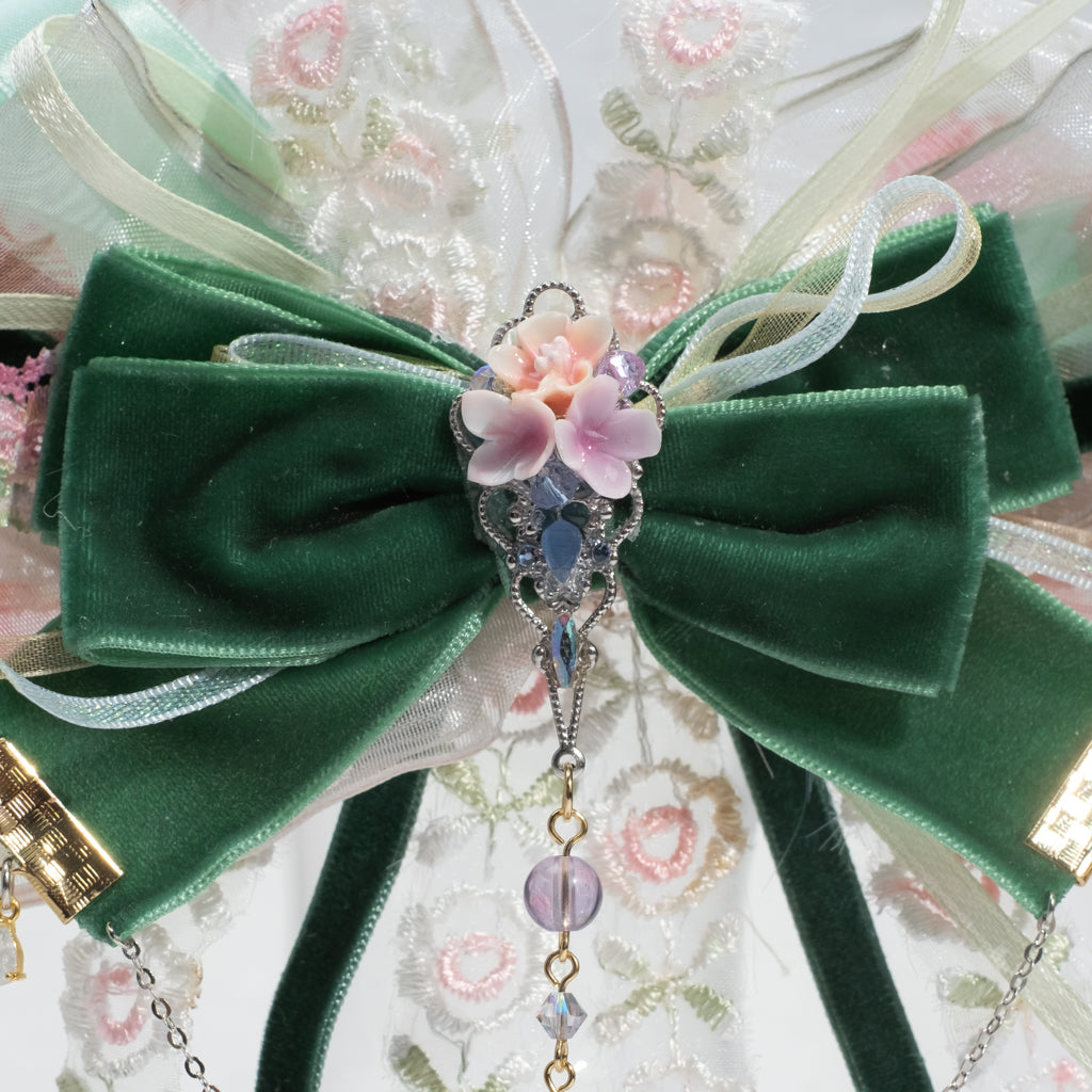 ⑥ 3-way Detachable Ribbon Carrie Clip (9 Designs)