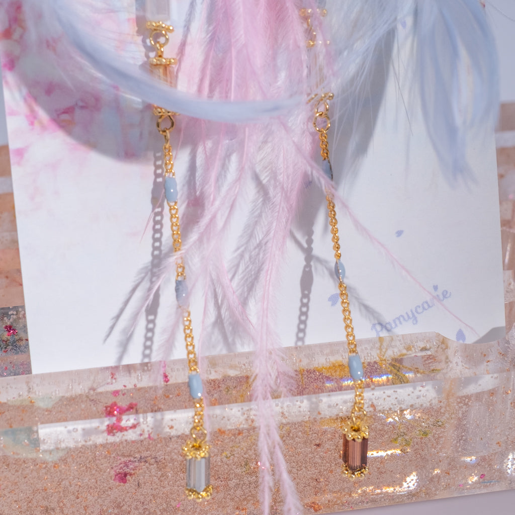 ⑦ Feather Lover Earrings (7 Designs)