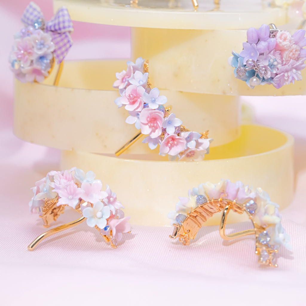 ⑧ Blooming Flower Pony Hook (8 Designs)