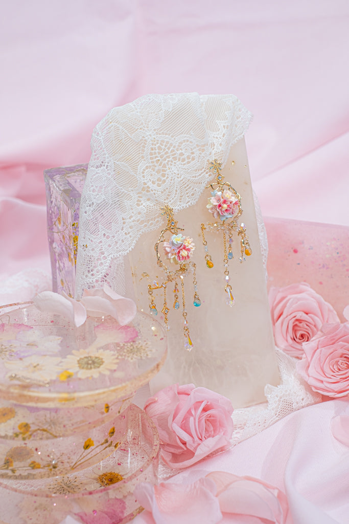 Lullaby 4-in-1 S925 Bouquet Earrings