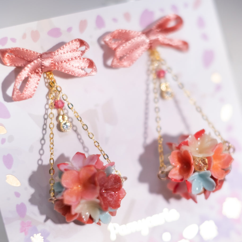 The Bouquet Earrings 2 (10 Designs)