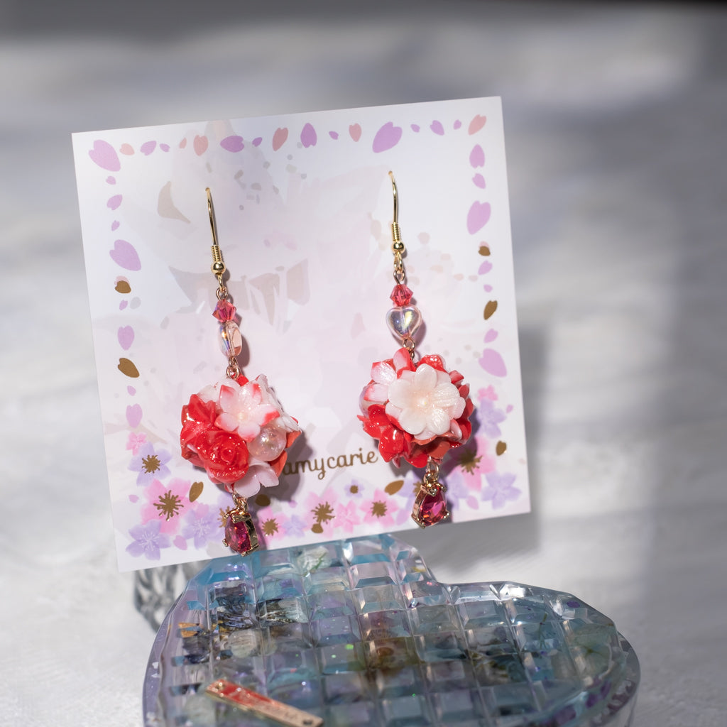 ④ The Bouquet Earrings 2 (10 Designs)