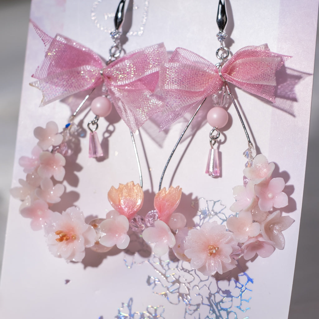 Floral Crown Earrings (4 Designs)
