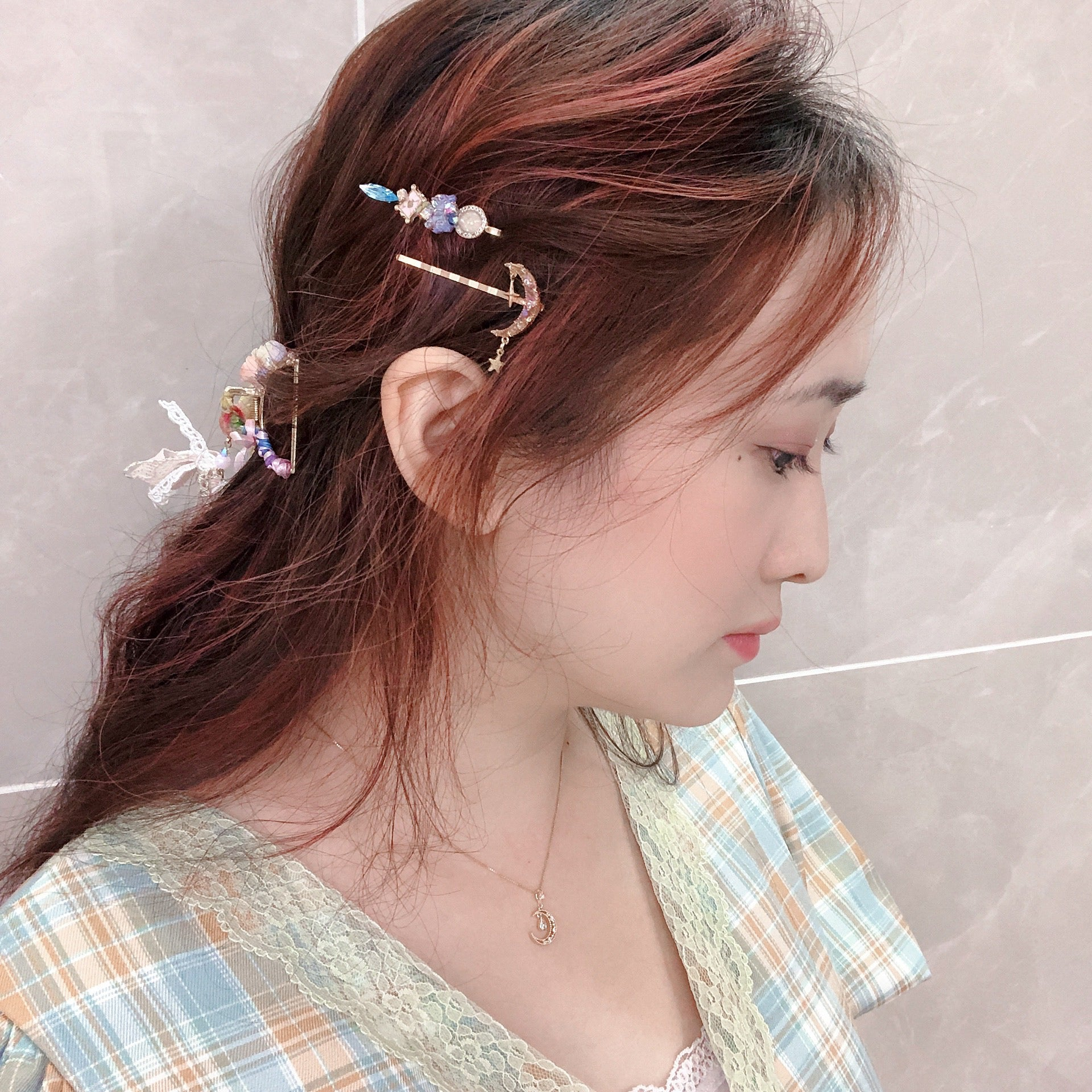 ⑧ Treasure Island Hair Clip Set (10 Designs)