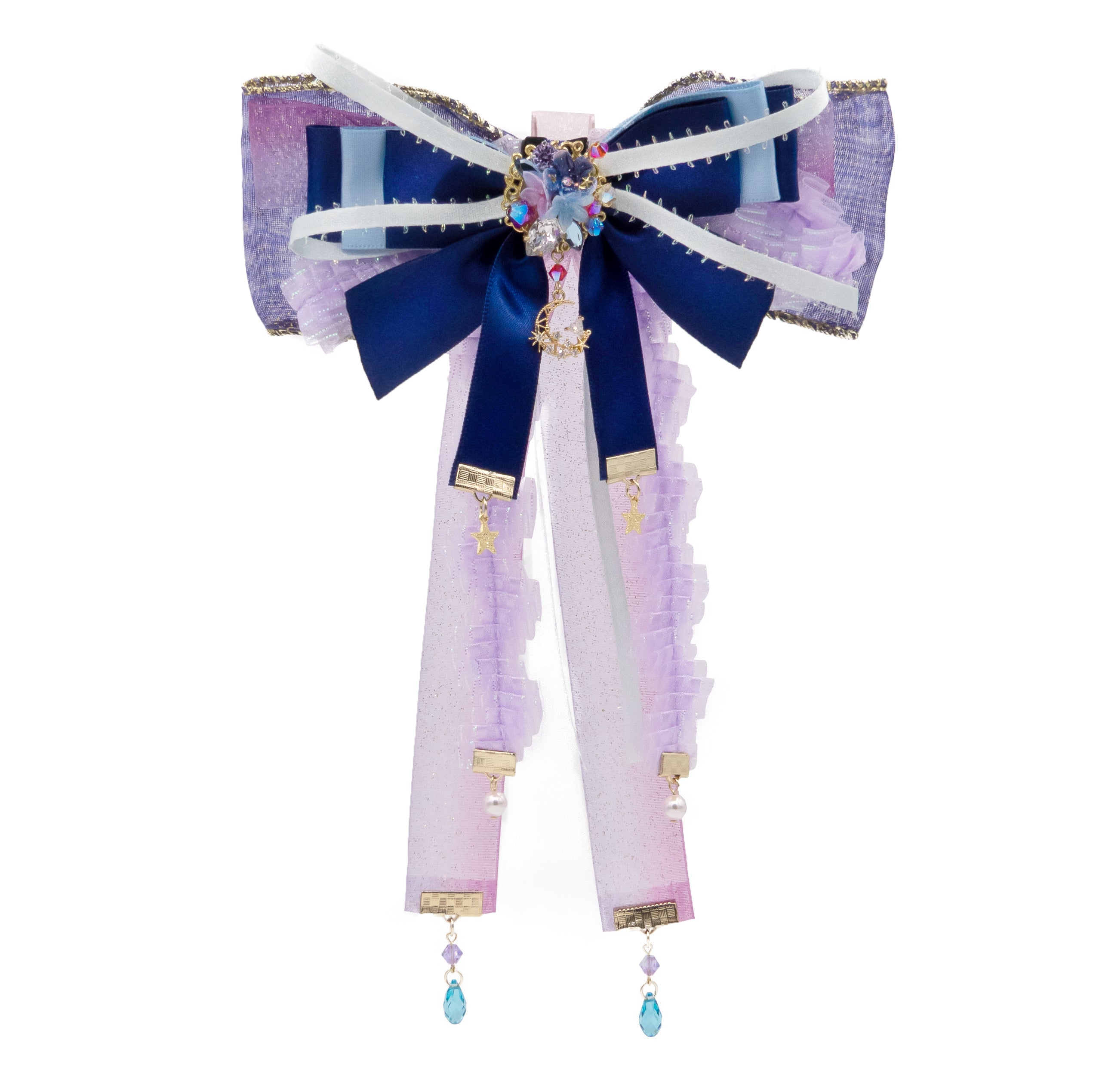 Gift of Angel Ribbon Mutil-usage Brooch/Hair Clip